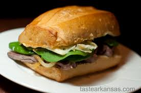 bureau steunk spicy mayo steak sandwiches taste of arkansas
