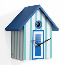 minimalist wall clock clocks neptune baths cuckoo clocks in blue and white for wall