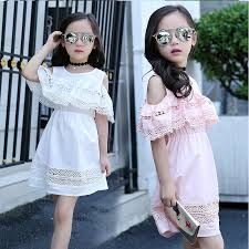 aliexpress com buy girls dresses summer 2016 with lace kids
