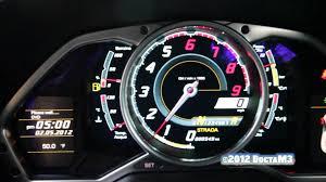lamborghini speedometer lamborghini lp700 4 aventador interior shots u0026 revving youtube