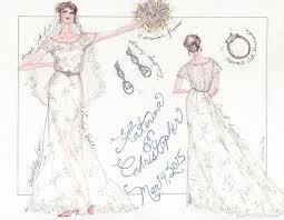 17 best wedding dress sketches images on pinterest wedding dress