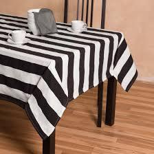 60 x 126 in trellis rectangular cotton tablecloth black u0026 white