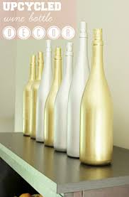 Diy Wine Bottle Decor by The Everything Soap Blog Diy Upcycled Wine Bottle Décor