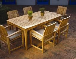 Wooden Patio Dining Set Westbrook Teak Patio Dining