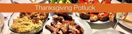 thanksgiving potluck dinner unity of montclair