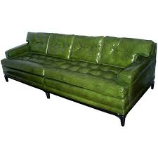 Funky Sofa Bed by Best 25 Green Leather Sofa Ideas On Pinterest Green Leather