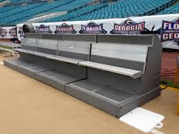 for first cold weather super bowl benches with wrap around heat