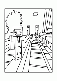 printable minecraft coloring page minecraft coloring pinterest