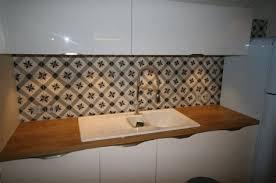 cr馘ence cuisine carreaux de ciment credence cuisine carreaux de ciment 8 d233coration