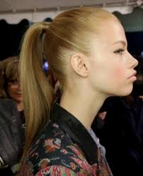 ponytail bump ponytail hairstyles ponytail hairstyle with bump hairstyle