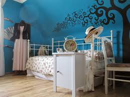 strangeness and charms room tour a petrol blue and black vintage