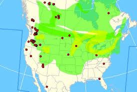map of oregon smoke smoke from washington oregon fires covers america