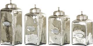 willa arlo interiors numbered glass 4 piece kitchen canister set numbered glass 4 piece kitchen canister set