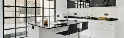 L Kitchen Designs Island Kitchen In A Stately Home Polar White Line L