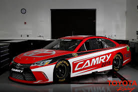 Dodge Challenger Nascar - 2015 toyota camry nascar updated to match street car