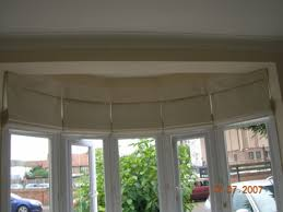 Bay Window Roller Blinds Ruffet U0027s Drapes Made To Measure Curtains And Blinds By Emma