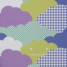 clouds wallpaper by wall library notonthehighstreet com