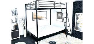 lit en hauteur avec canapé lit superpose banquette lit mezzanine avec banquette futon