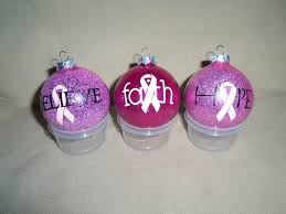 made for breast cancer fundraiser make ornaments to sell