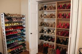 Large Shoe Cabinet With Doors by Simple Hallway With Shoe Rack Cabinet Closet Design High Heels