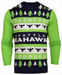 seahawks light up sign forever collectibles men s seattle seahawks light up ugly crew neck