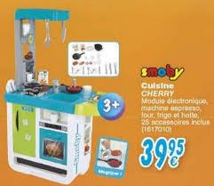 cuisine cherry smoby cora promotion cuisine cherry smoby cuisines jouets enfants