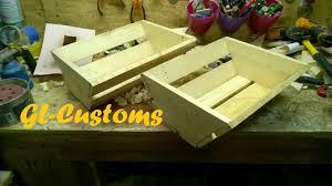 Table En Caisse En Bois Fabriquer Une Caisse En Bois De Palette Make A Wooden Pallet