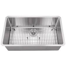 Stainless Steel Kitchen Sinks Undermount Reviews Rusb 3219 16bs Radius Undermount 32 Single Bowl 16g Stainless