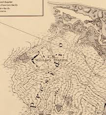 Presidio San Francisco Map by The Gazetteer Of Lost San Francisco Cannon Hill U2013 Chris Salvano