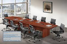 conference table and chairs set unbranded generic office desks u0026 tables ebay