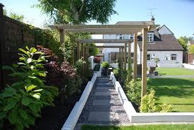 garden contemporary backyard landscaping simple backyard design