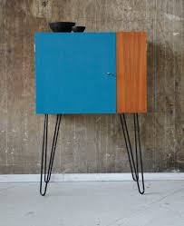 60er teak barschrank kommode vintage 60s bar cabinet midcentury