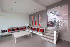 modern minimalist peru modern casa graffiti modern warm living room with modern