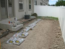 Making A Paver Patio by Paver Patio Project Part 1 Urbancompostsystems