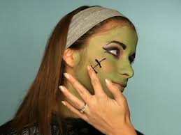 Halloween Makeup Stitches Kid U0027s Halloween Makeup Tutorial Frankenstein U0027s Daughter Hgtv