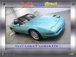 1991 corvette colors 1991 turquoise metallic chevrolet corvette coupe 24589711