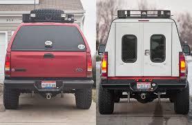 homemade truck cab a r e aluminum dcu u201ccamper lite u201d build expedition portal