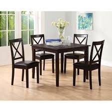 furniture alluring white comforted cheap dinette sets
