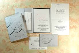 Monogram Wedding Invitations Real Card Studio Monogram Wedding Invitation In Silver With