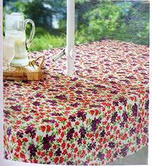 Patio Table Cover With Zipper Amazon Com Floral Print Purple U0026 Red Flowers Umbrella Tablecloth