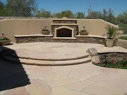 chandler landscape design poco verde landscape fireplace