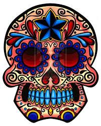 dia de los muertos skull paint for sugar skull images sugar