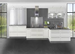 cuisine blanc laqué catchy cuisine blanc laque et gris id es de d coration bureau in