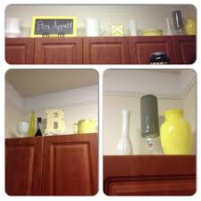 Decor Over Kitchen Cabinets by 5 Ideas For Decorating Above Kitchen Cabinets Above Kitchen