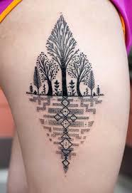 40 achingly beautiful tree tattoos tattooblend