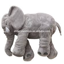 baby kids elephant pillow toys plush lumbar support cushion buy