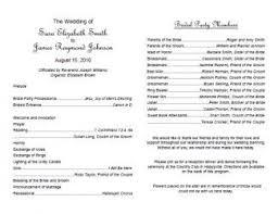 downloadable wedding program templates free wedding program templates in free printable wedding program