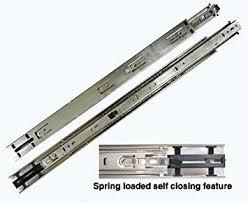 self closing cabinet drawer slides kv 8400 series full extension precision ball bearing slides self
