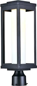 Post Light Fixtures Modern Outdoor Post Lights Maxim Salon Led Modern Black Led
