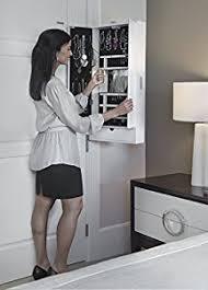 Jewelry Storage Cabinet Amazon Com Cabidor Jewelry Storage Cabinet Kitchen U0026 Dining